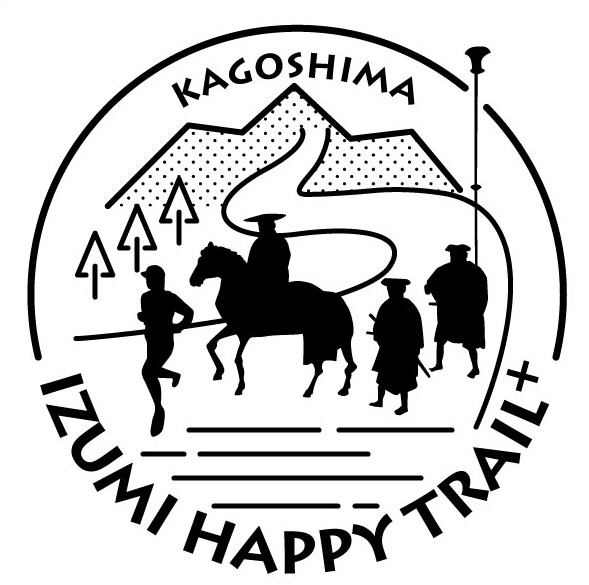 IZUMI  HAPPY  TRAIL + 様 ロゴ